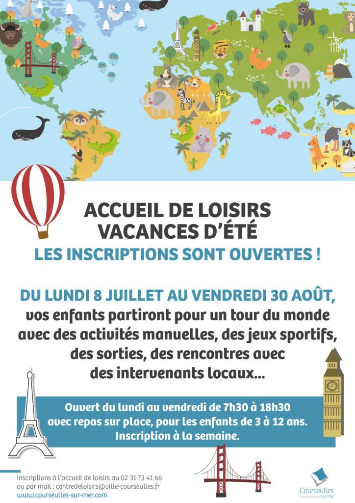 Affiche Vacances d'été