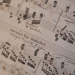 Modification de programme ! La conférence sur Berlioz est annulée et remplacée
