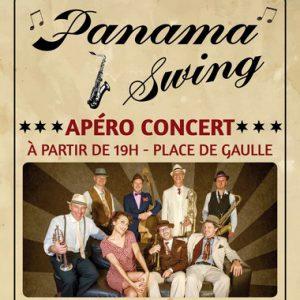 Apéro-concert avec l'orchestre ''Panama Swing''