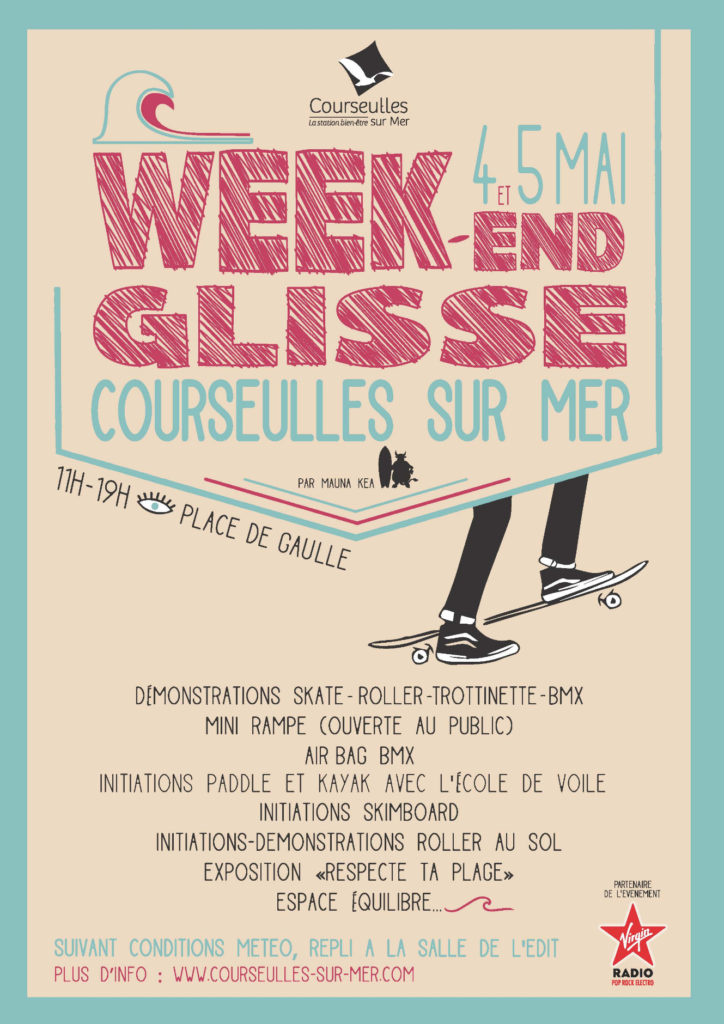 Affiche Week end de la Glisse 2019 BD