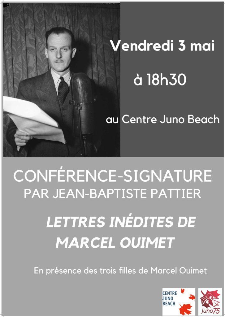Conférence-signature par Jean-Baptiste Pattier