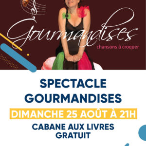 Spectacle Gourmandises