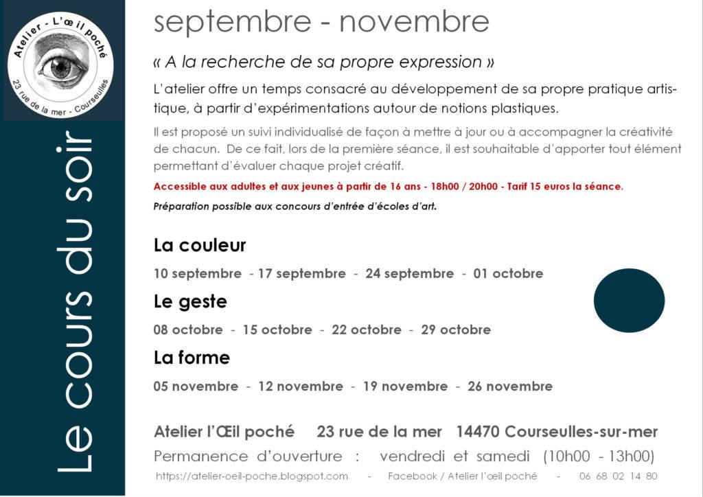 flyer-le-cours-du-soir-4e-trim-201901