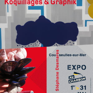 Exposition Koquillages et Graphik - Stéphane Desmares