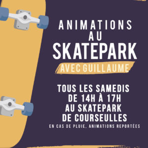 Animations au skatepark