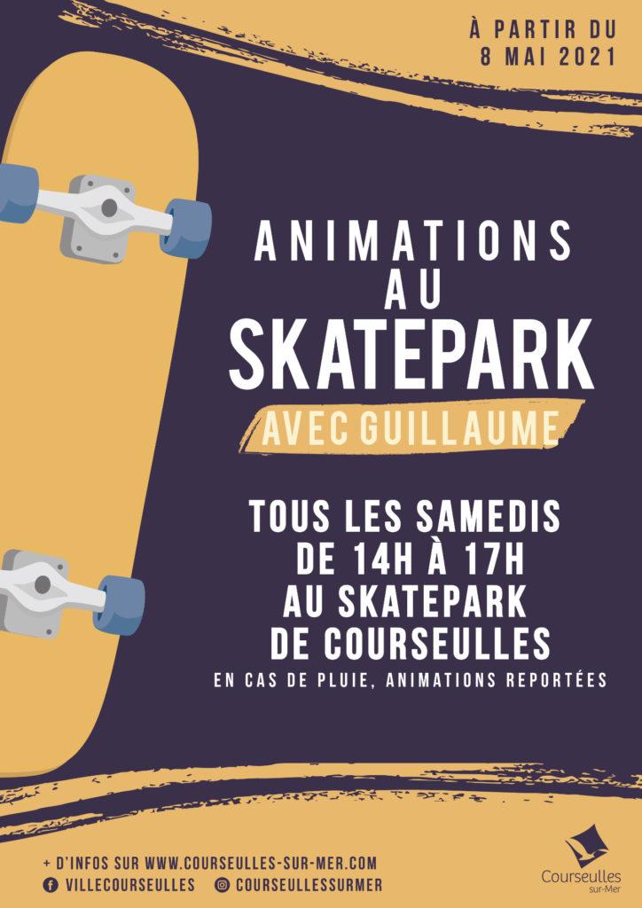 Animations au skatepark