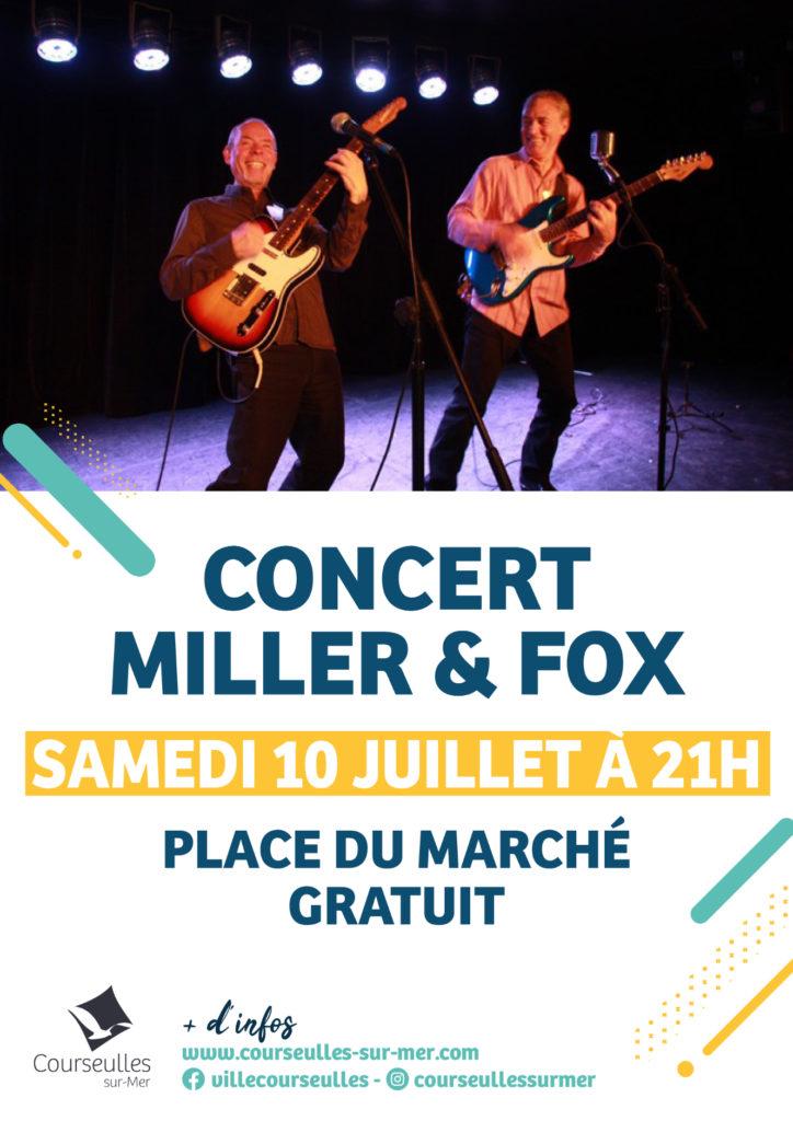 Concert Miller et Fox