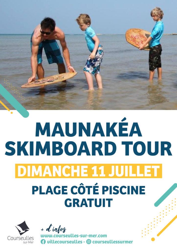 Maunakéa Skimboard Tour