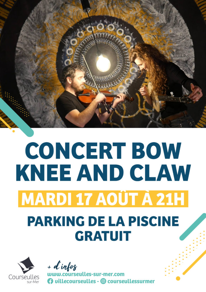 Concert Bow Knee and Claw