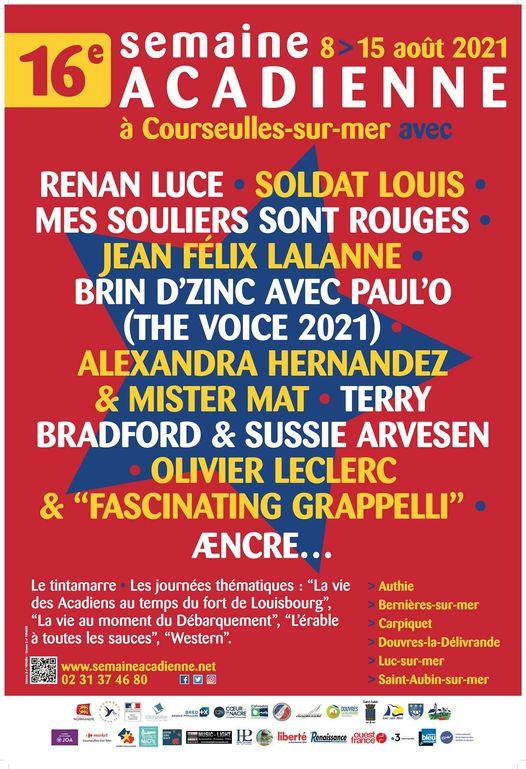 16ème édition du Festival de la Semaine Acadienne