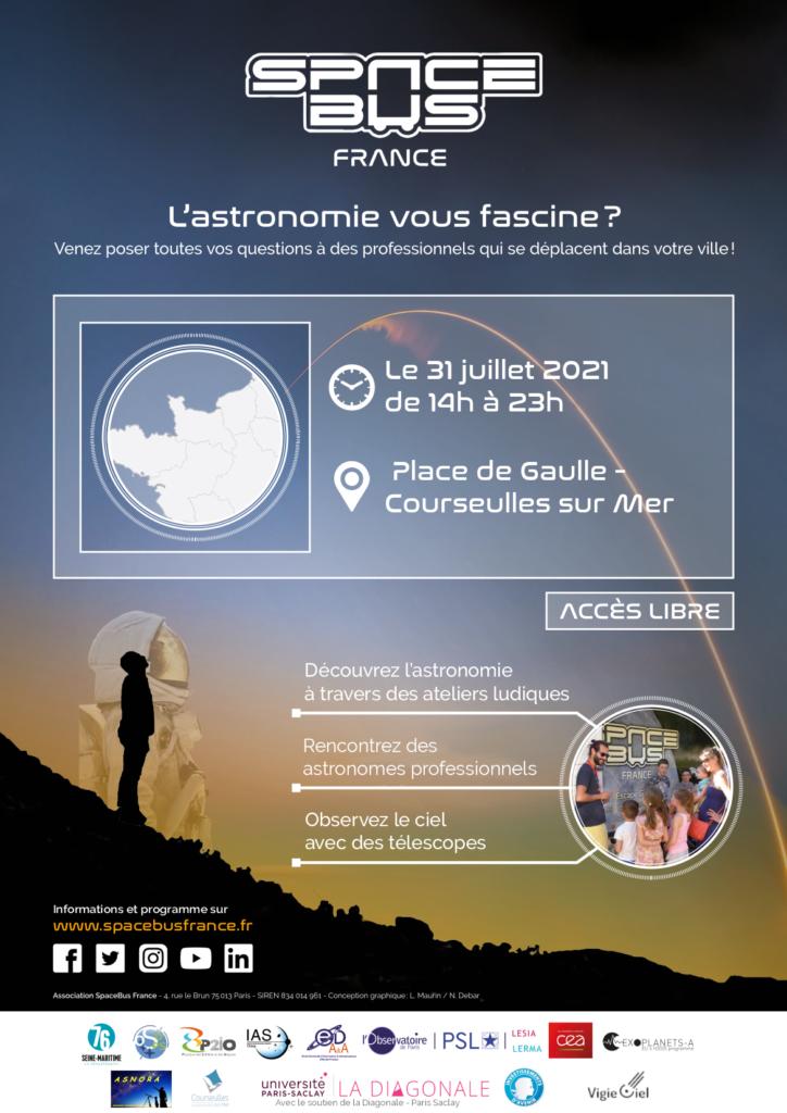 Journée Spacebus : Découverte de l'astronomie
