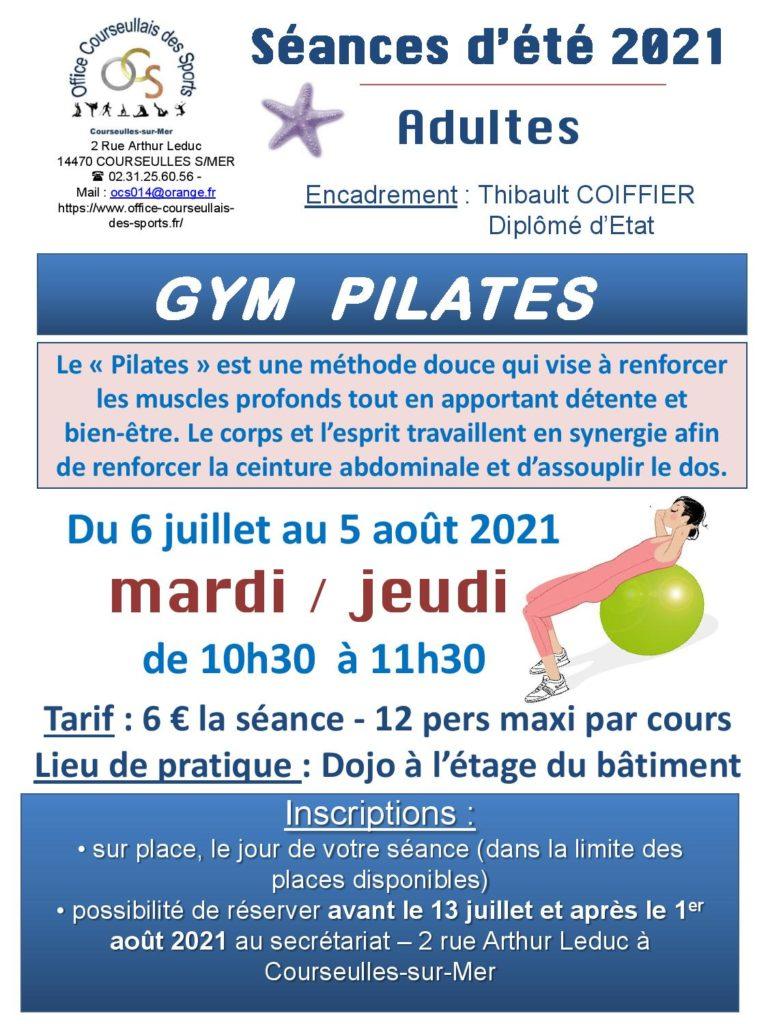 Gym Pilates à l'OCS