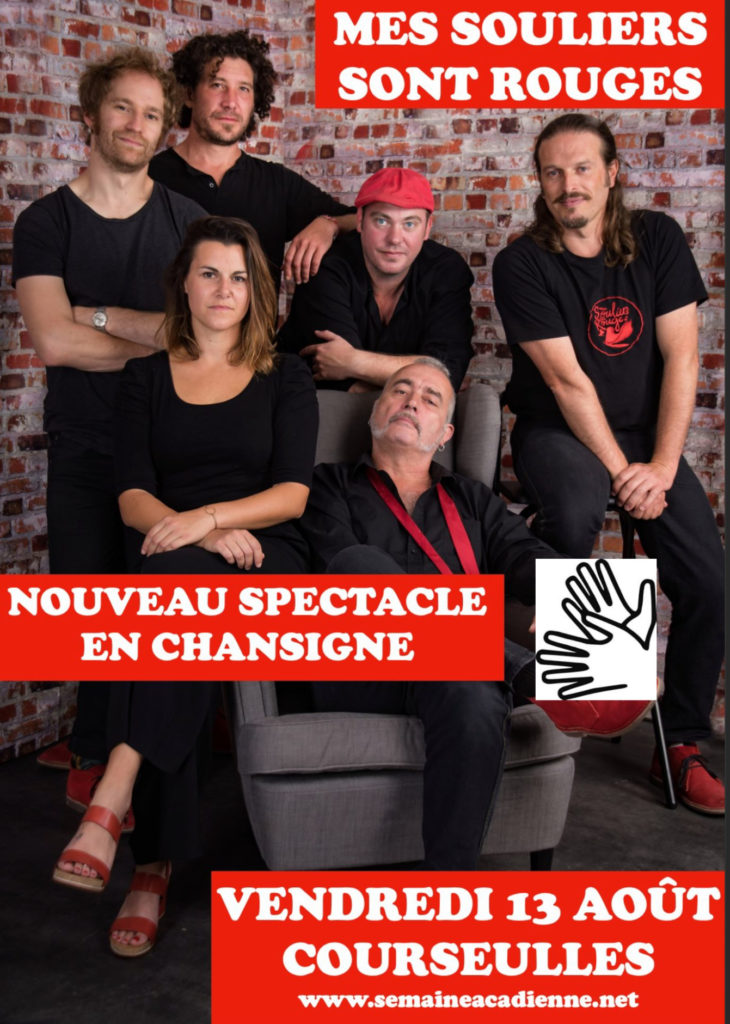 Semaine Acadienne - Programme du 13 août
