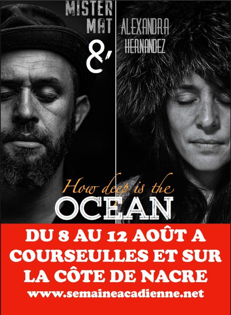 Semaine Acadienne - Programme du dimanche 8 août