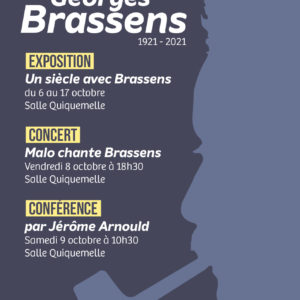 Centenaire Georges Brassens